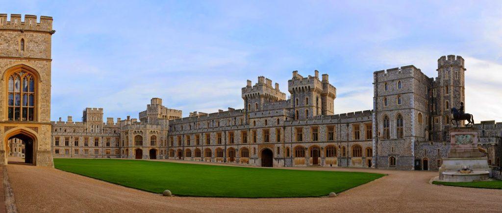 İngiltere'nin kaleleri ve şatoları Windsor Castle