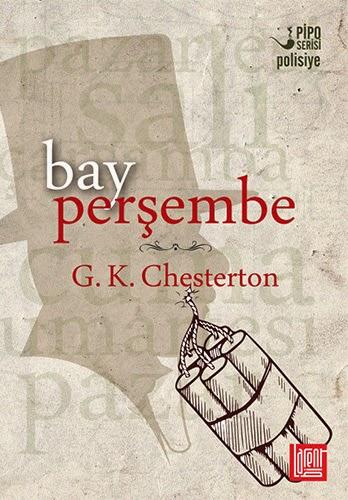 Polisiye kitap tanitimi: Bay Persembe