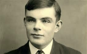 Apple logo Alan Turing