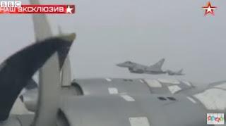 RAF Rus savaş uçağı yakınlaşması