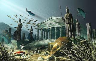 Kayıp şehir Atlantis nerede?