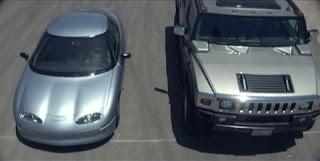 ev1 ve hummer jeep