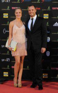 Oscar Pistorius ve kız arkadaşı